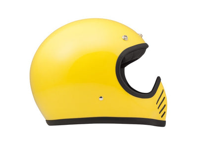 DMD Seventy Five Full Face  Helmet Yellow