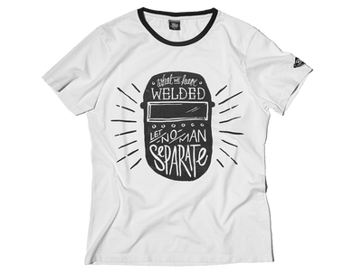 Fuel T-Welder White T-Shirt