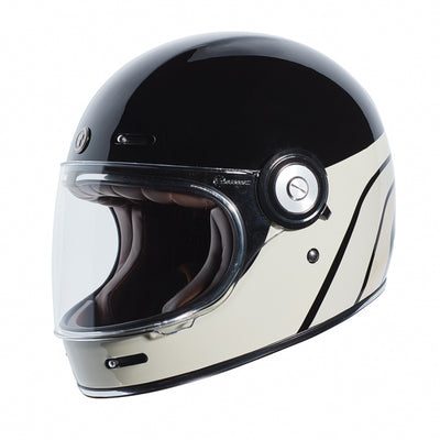 Torc T-1 Dreamliner Black Tan Full Face Helmet
