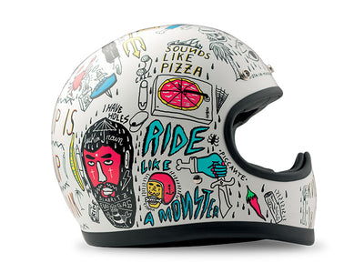 DMD Racer Full Face Helmet Tribal