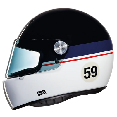 Nexx Full Face Helmet Gran Win Black Blue White X.G100R