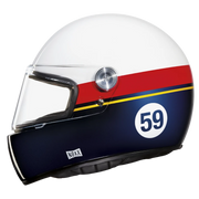 Nexx Full Face Helmet Gran Win White Red Blue X.G100R