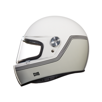 Nexx Full Face Helmet Motordrome White X.G100R