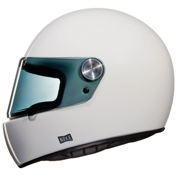 Nexx Full Face Helmet Purist Gloss White X.G100R
