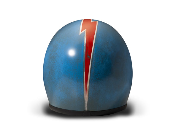 DMD Handmade Seventy Five Full Face Helmet Arrow Blue
