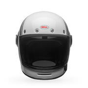 Bell Bullitt Gloss White Carbon Pierce Full Face Helmet