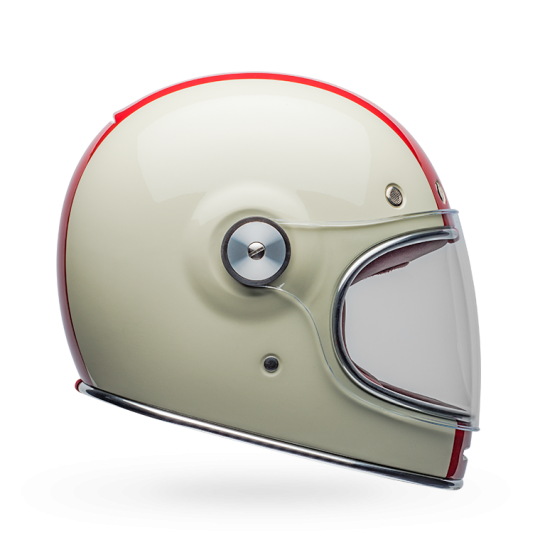 Bell Bullitt Command Gloss Vintage White/Red/Blue Full Face Helmet
