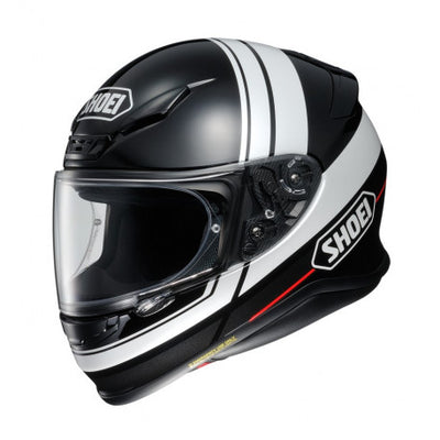 Shoei NXR Philosopher TC5 Black White Full Face Helmet