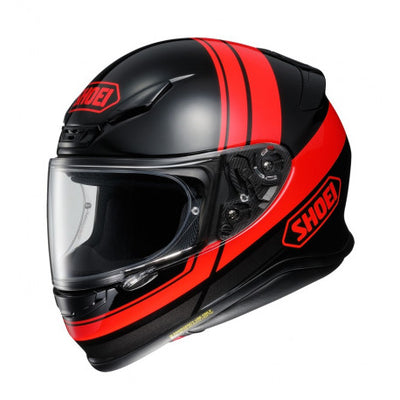 Shoei NXR Philosopher TC1 Red Black Full Face Helmet