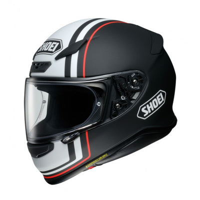 Shoei NXR Recounter TC5 Black White Full Face Helmet