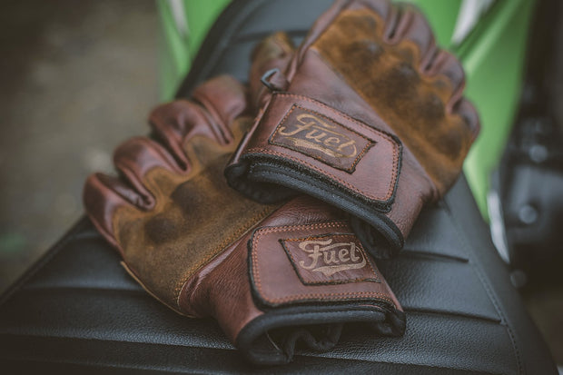 "FUEL ""RODEO"" GLOVES BROWN"