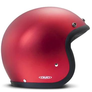 DMD Vintage Open Face Helmet Metallic Red