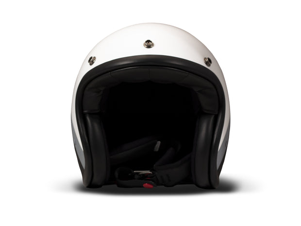 DMD Vintage Open Face Helmet Dark Side