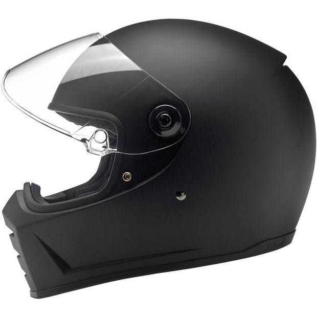 Biltwell Lane Splitter Full Face Helmet Flat Black