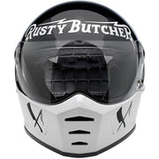 Biltwell Lane Splitter Full Face Helmet Rusty Butcher