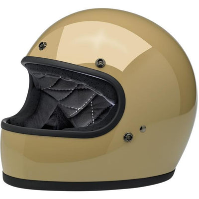 Biltwell Gringo Ece Approved Full Face Helmet - Gloss Coyote Tan