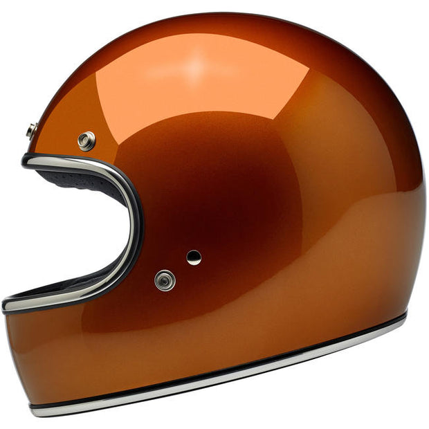 Biltwell Gringo ECE Approved Full Face Helmet - Gloss Copper