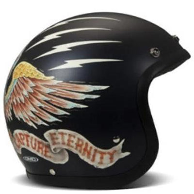 DMD Vintage Open Face Helmet Eagle