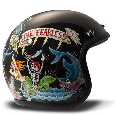 DMD Vintage Open Face Helmet Fate