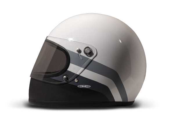 DMD Rocket Full Face Helmet Greyscale
