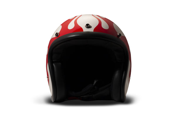 DMD Vintage Open Face Helmet Hell
