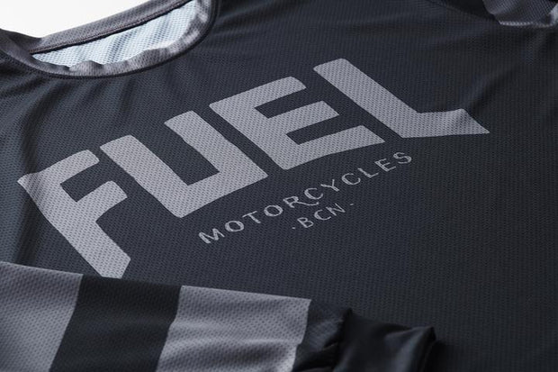 "Fuel ""Grey Stripes"" ENDURO JERSEY"
