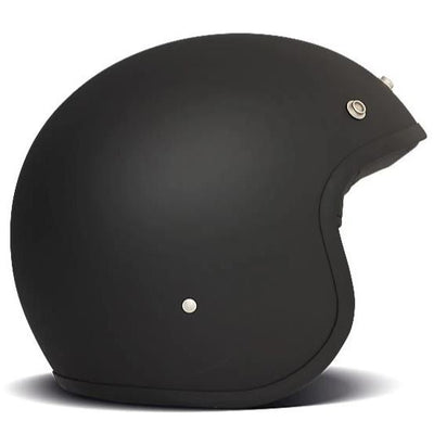 DMD Vintage Open Face Helmet Matt Black