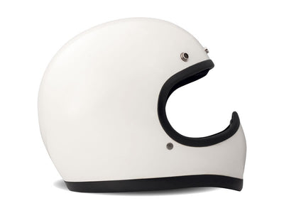 DMD Racer Full Face Helmet White