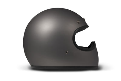 DMD Racer Full Face Helmet Grey