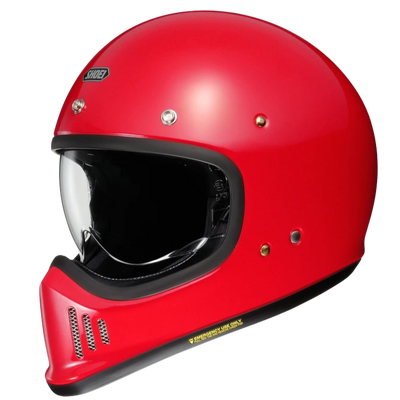 Shoei EX-Zero Full Face Helmet Shine Red