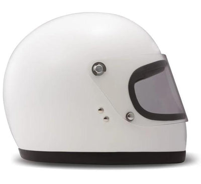 DMD Rocket Full Face Helmet Gloss White