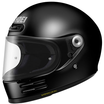 Shoei Glamster Gloss Black Full Face Helmet