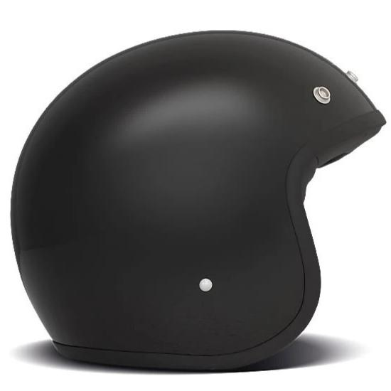 DMD Vintage Open Face Helmet Solid Black