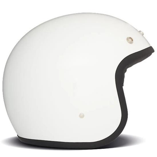 DMD Vintage Open Face Helmet Solid White