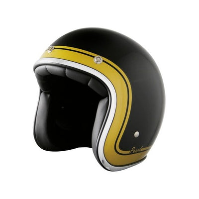 Stormer Pearl Open Face Helmet Classic Gold