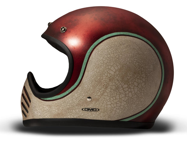 DMD Handmade Seventy Five Full Face Helmet Swan