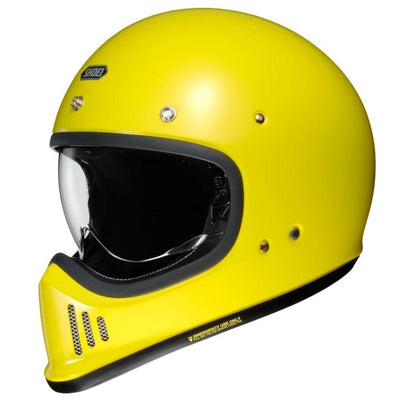 Shoei EX-Zero Full Face Helmet Brillant Yellow