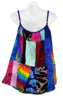 Patchwork Summer Cami Top No. 5, L/XL - theHipOutfitters.com