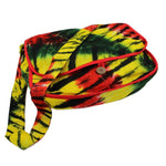 Tie-Dye Rasta Colors Messenger Bag - theHipOutfitters.com
