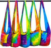 Rainbow Tie-Dye Hobo Bag - theHipOutfitters.com
