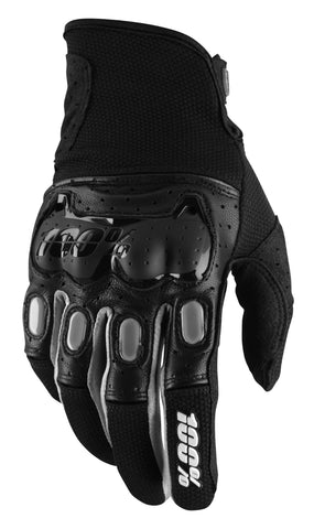 100% Men's Derestricted Gloves Black/Grey