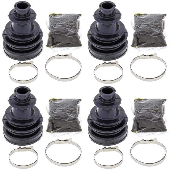 All Balls Body Complete Front Inner & Outer CV Boot Repair Kit for Polaris Ranger 4x4 700 2008