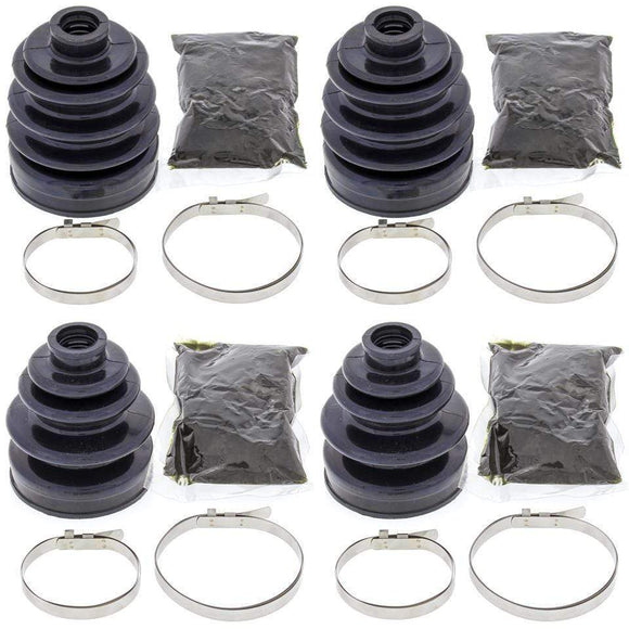 All Balls Body Complete Front Inner & Outer CV Boot Repair Kit LT-F4WDX King Quad 300 91-95