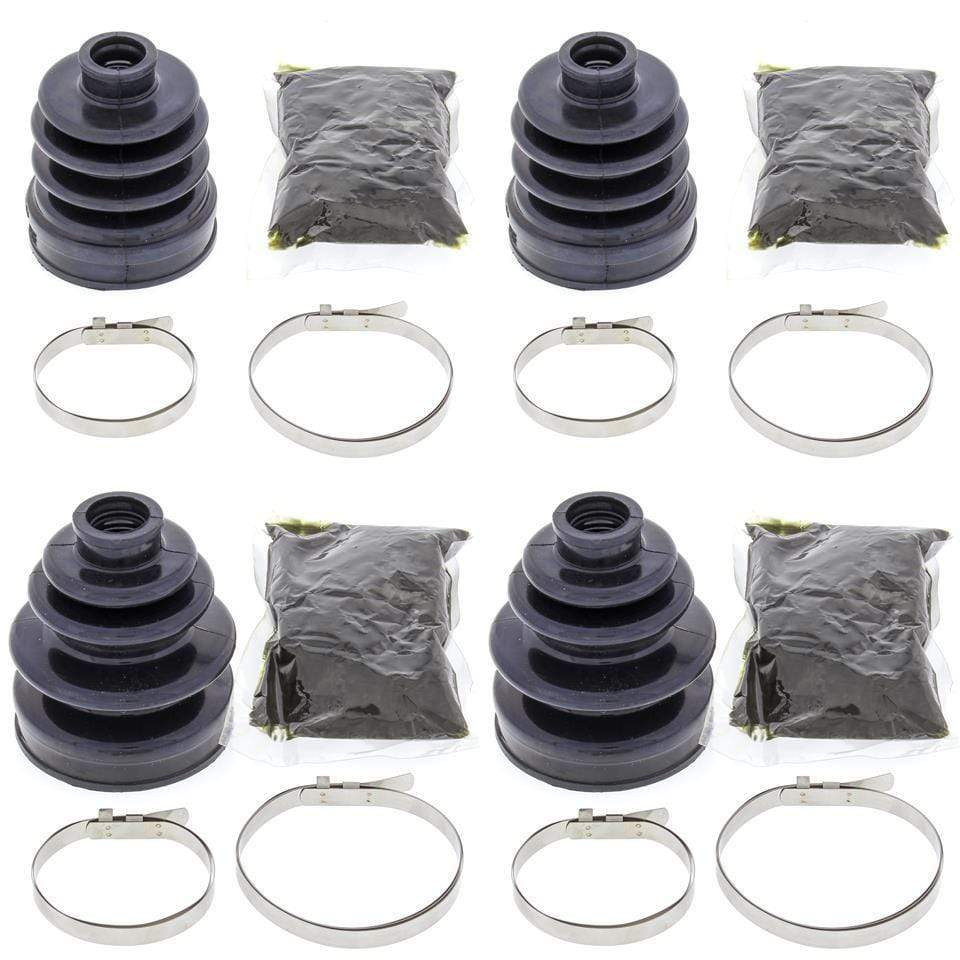 Complete Front Inner & Outer CV Boot Repair Kit Yamaha YFM350FW Big Bear 87-96