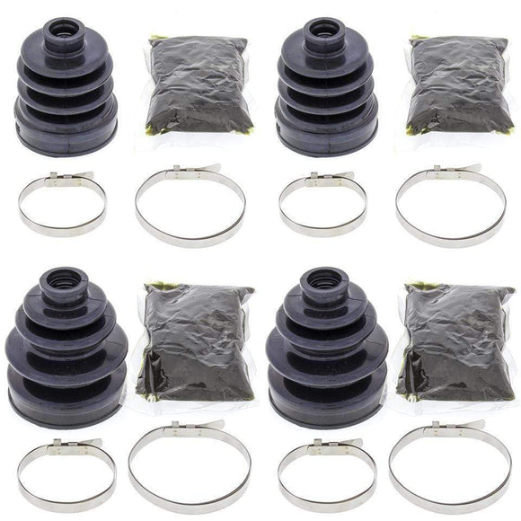 All Balls Body Hardware Complete Front Inner & Outer CV Boot Repair Kit Yamaha YFM350FW Big Bear 87-96