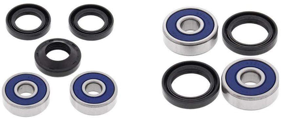 All Balls Body Hardware Wheel Front And Rear Bearing Kit for Honda 70cc CT70 Trail 1969 - 1994