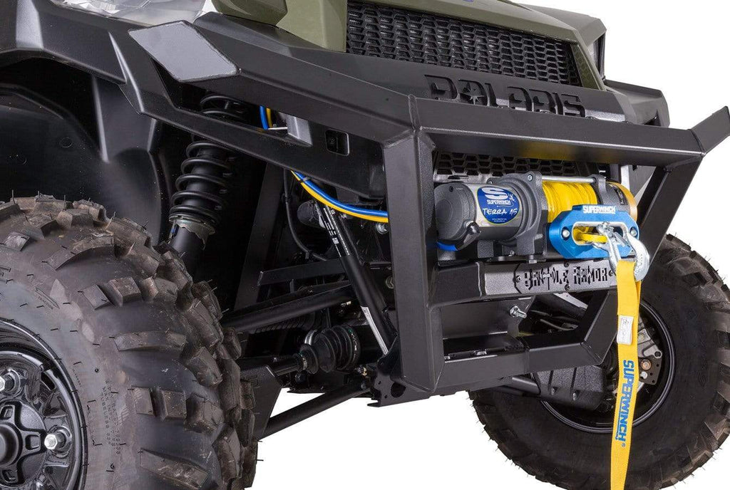 Battle Armor Designs Body Battle Armor Designs Gen 1 Front Bumper - 2013-19 Full Size Polaris Ranger with Pro-Fit Cage