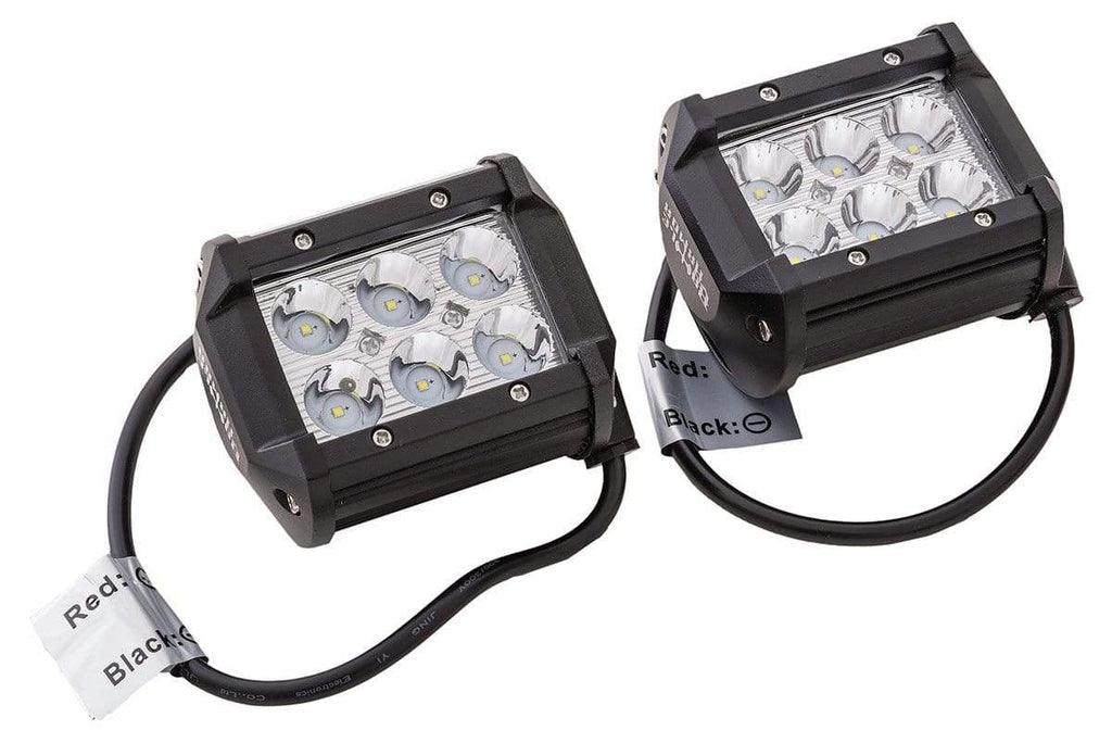 Battle Armor Designs Electrical & Lighting Battle Armor 4 Inch LED Light Pods - Sold in Pairs
