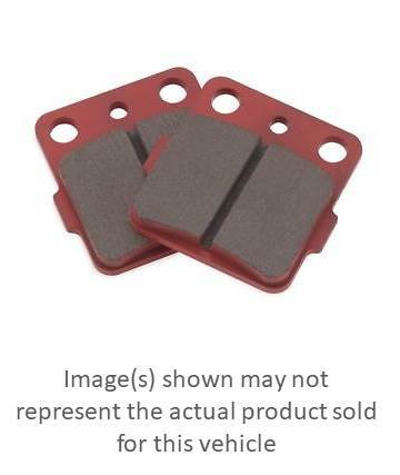 BIKEMASTER Sintered Brake Pads Rear for HONDA ATC350X 1985