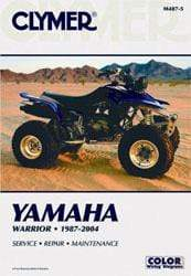 Clymer Body CLYMER M487-5 REPAIR MANUAL Yamaha Warrior 1987-2004